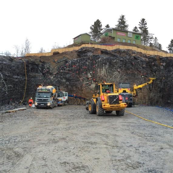 Referanseprosjekt for Veidekke: Tunnelene i Bypakke Bodø.