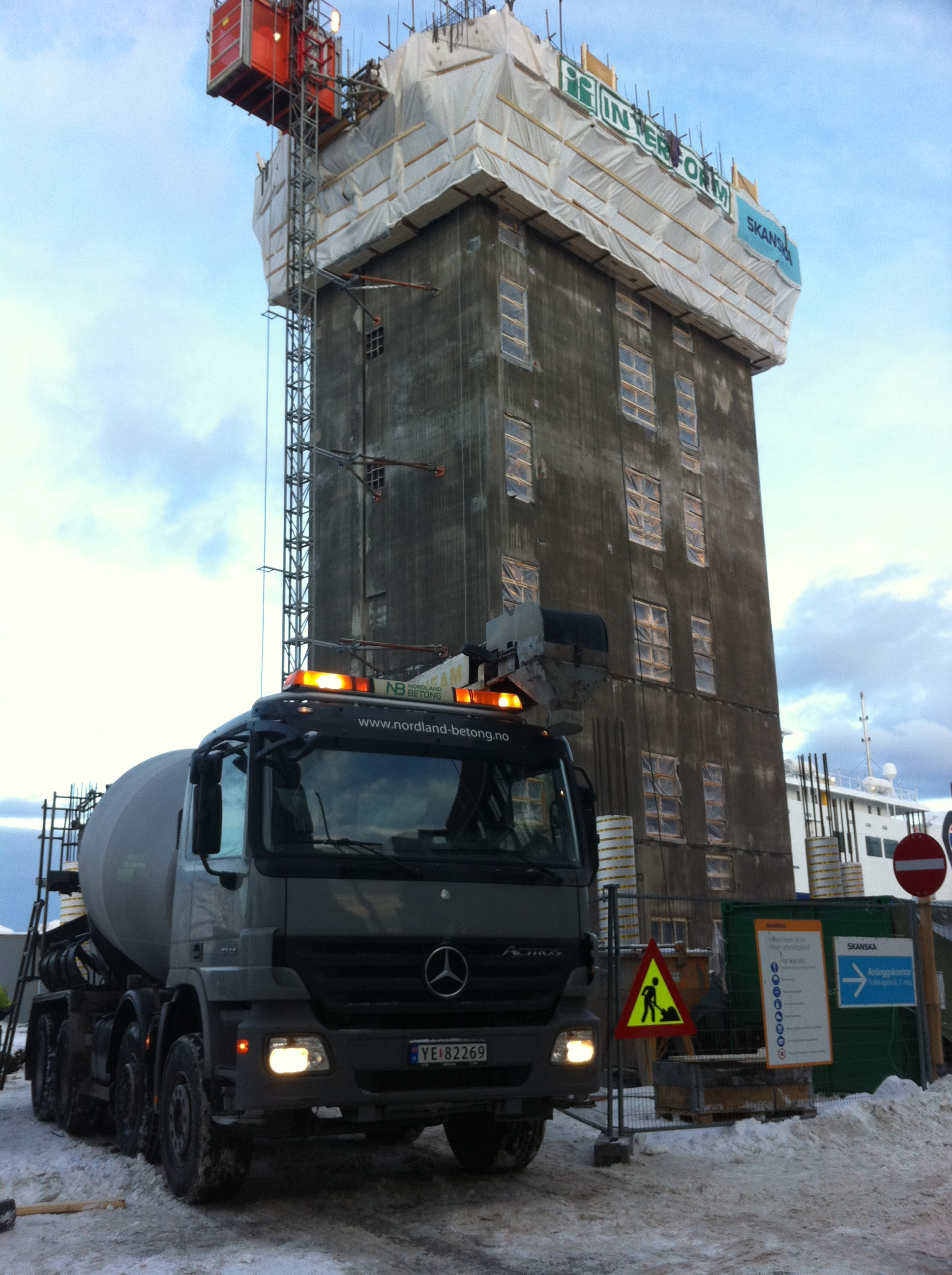 Nordland betong burøya